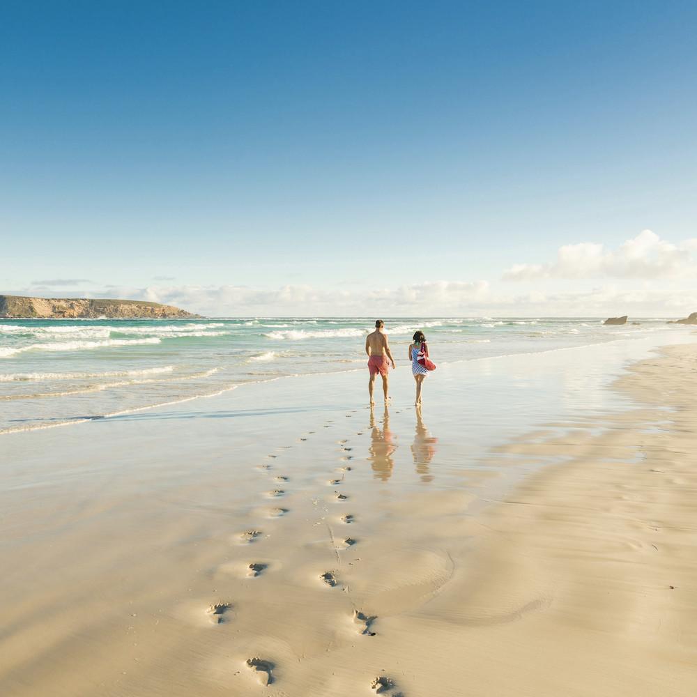 Coffin Bay beach perth to Adelaide Tour