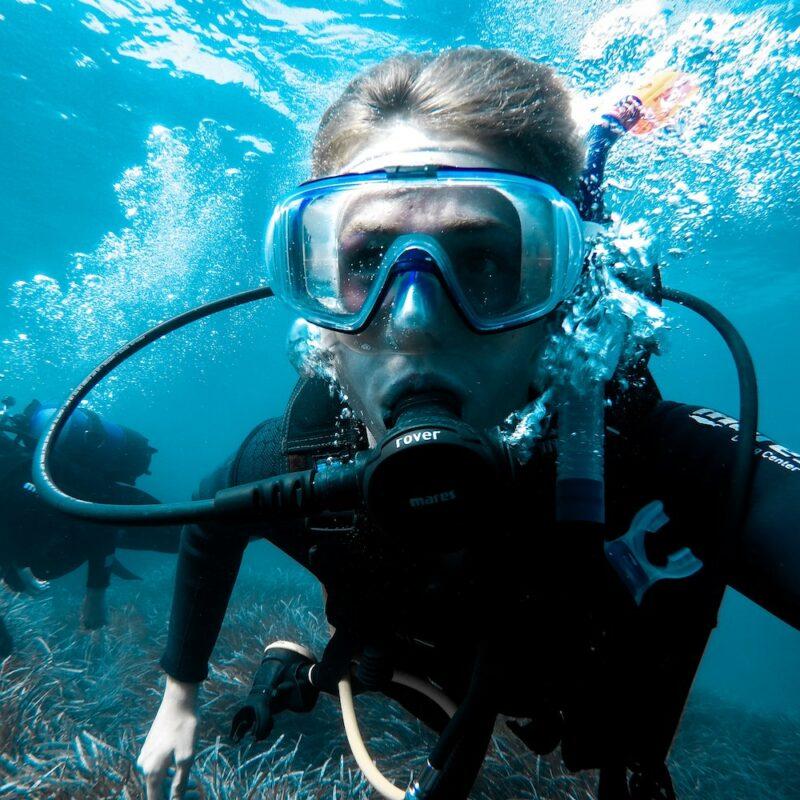 Diving on the Ningaloo Reef Australia