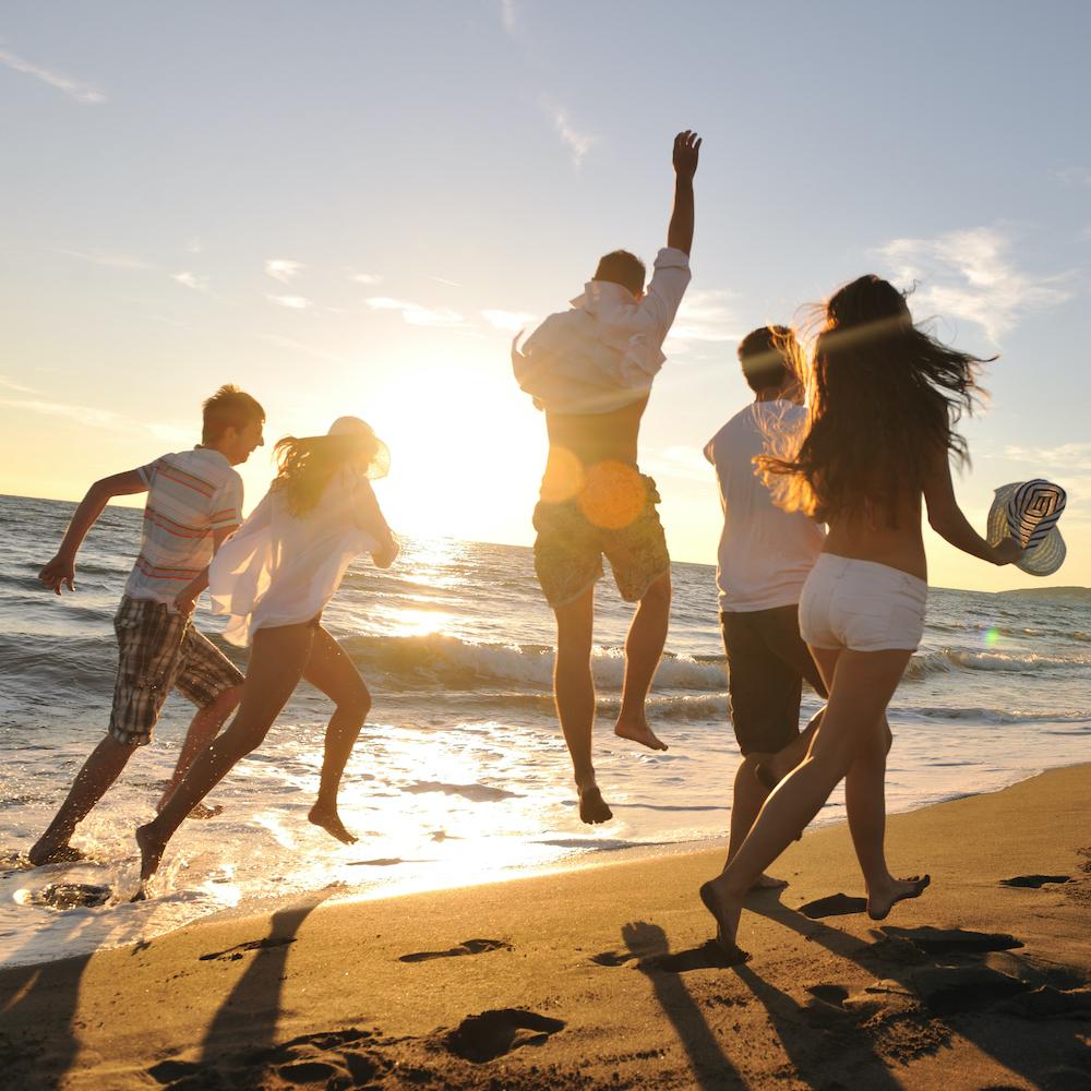 Beach party Whitsundays