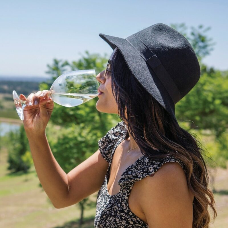 Hunter Valley wine drinking