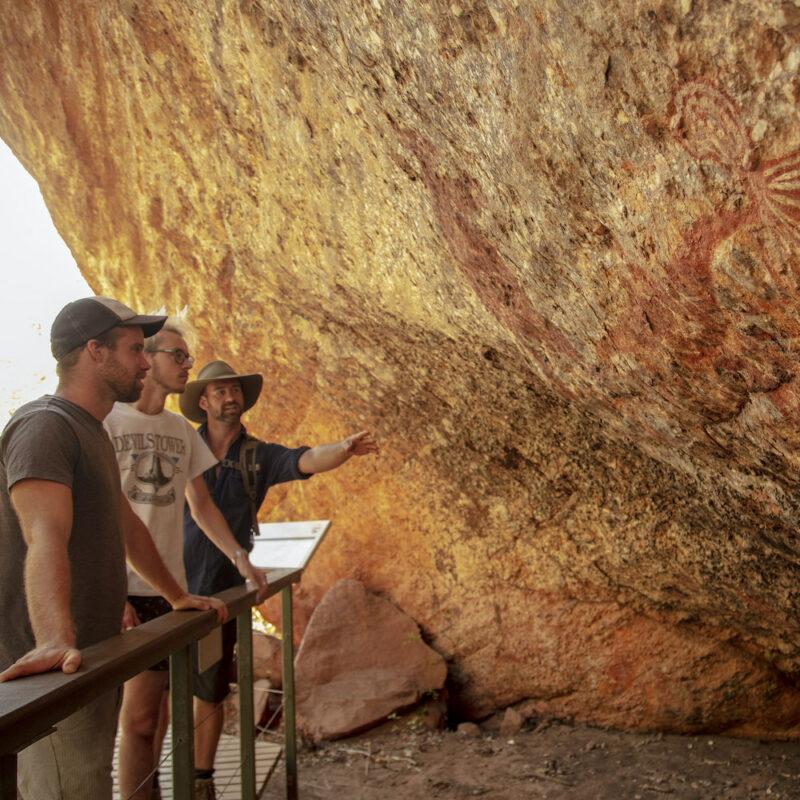 Kakadu Rock Art with guide