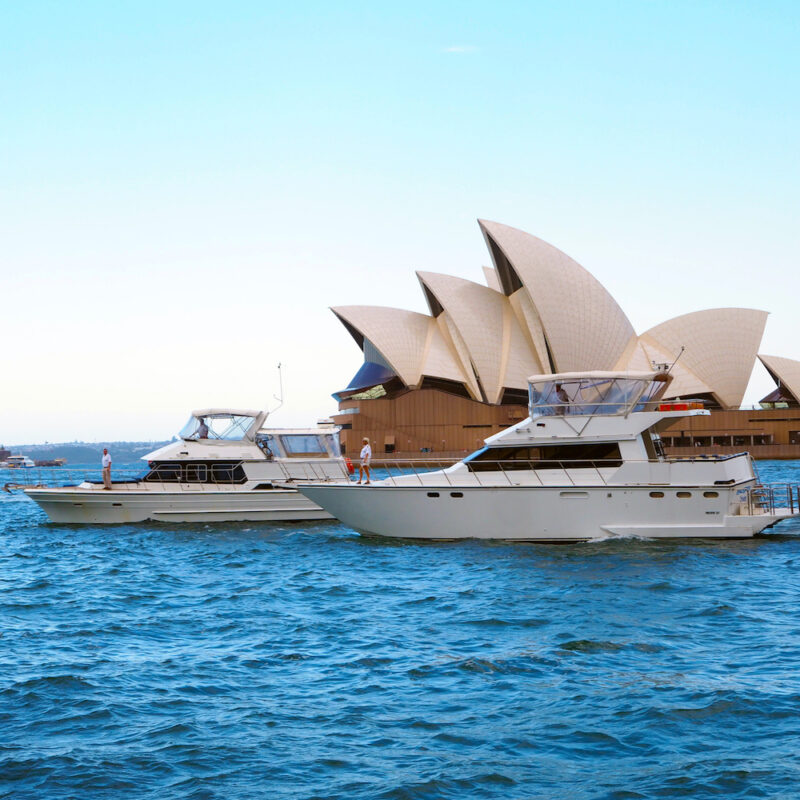 Cruise the Sydney Harbour