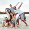 Group of friends on Fraser Island