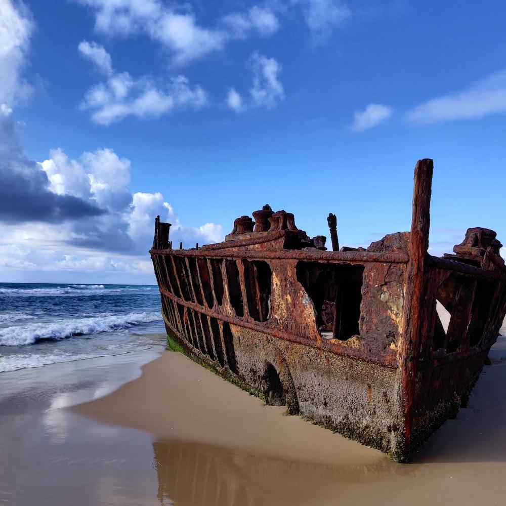 The Maheno Fraser Island