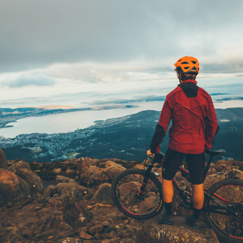 Mountain biking, Mt Wellington